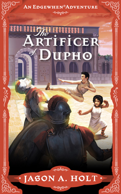 Cover for The Artificer of Dupho by Jason A. Holt. Illustration by Kristina Gehrmann - KristinaGehrmann.com.