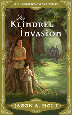 Cover for The Klindrel Invasion by Jason A. Holt. Illustration by Kristina Gehrmann - KristinaGehrmann.com.